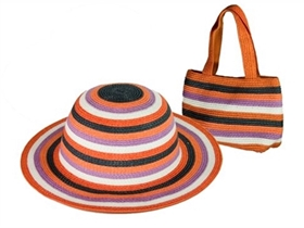 wholesale girls hat purse sets - kids accessories
