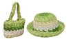wholesale kids hat purse set - girls accessories