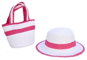 wholesale girls accessories sets hat purses