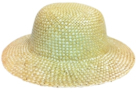bulk kids straw hats - blank wholesale sun hats children