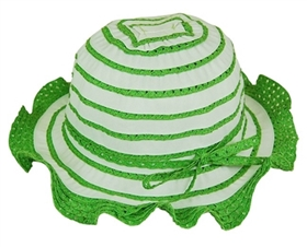 wholesale kids sun hats lacy ruffle