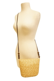 wholesale wheat straw crossbody purse
