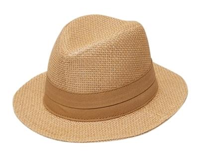 Wholesale Infant Hats - Babys Straw Havana Fedora Hat e32e1009e503