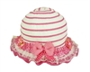 wholesale girls sun hat ribbon lace