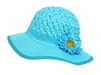 wholesale girls sun hat straw flowers