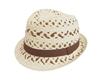 wholesale kids straw fedora hat crochet