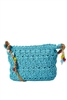 wholesale straw shoulder bags purses beads