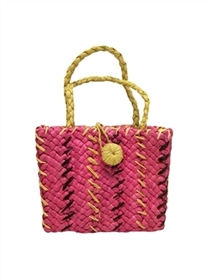 wholesale child's multicolor straw purse