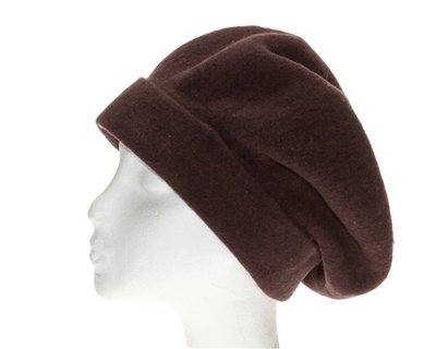 wholesale oversized lambswool beret