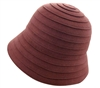 wholesale spiral felt bucket hat