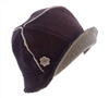wholesale lambswool cloche  piping