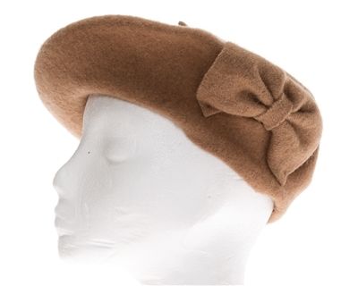 wholesale wool beret  bow