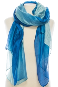 wholesale Silk Blend Ombre Shawl