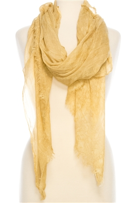 Wholesale Stonewashed Raindrops Scarf