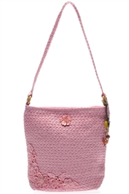 bulk pink shoulder bags - wholesale straw vintage bags