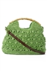 wholesale crochet straw bag  shoulder strap