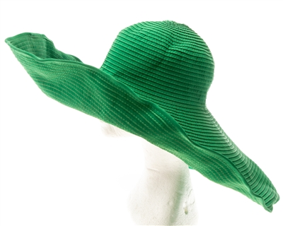 wholesale oversized ribbon sun hat