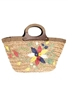 bulk seagrass straw beach bags - cheap wholesale straw handbags flower embroidery