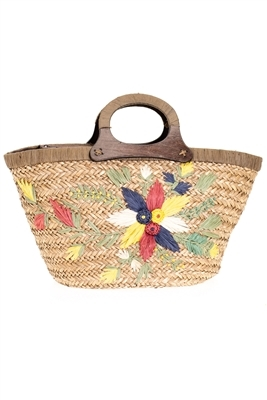 891176ae5 Bulk Seagrass Straw Beach Bags - Cheap Wholesale Embroidered Large ...