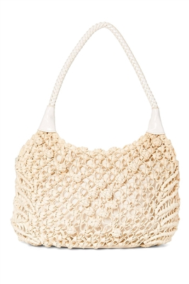 wholesale crochet string shoulder bag