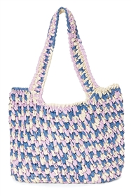 bulk purses straw multicolor