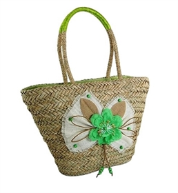 wholesale seagrass tote  flower