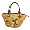 wholesale seagrass basket handbag  flowers