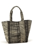 bulk straw print tote bags - wholesale straw print totes freestyle lines