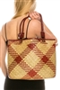 bulk seagrass straw bags - ladies cheap wholesale straw handbags bags - Los Angeles fashion accessories wholesaler