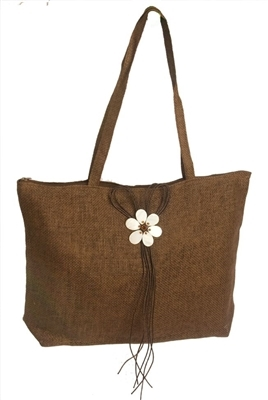 wholesale straw mesh tote  mother-of-pearl
