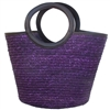 wholesale straw bucket tote bag