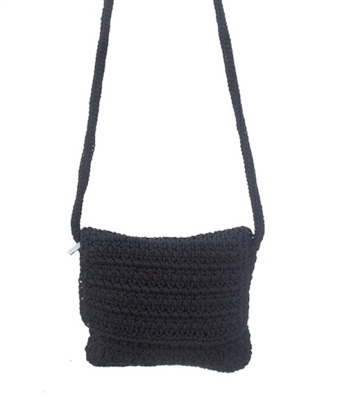 wholesale nylon crochet flap purse