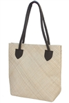 wholesale woven palm leaf shoulder bag