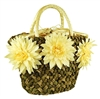 wholesale cornhusk and seagrass handbag