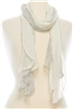 wholesale sheer cotton scarf
