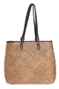 bulk large seagrass straw beach bags - wholesale handbags shoulder strap