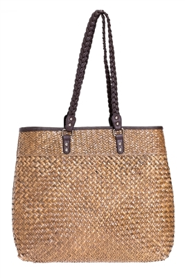 Bulk Large Seagrass Straw Beach Bags - Wholesale Seagrass Straw Bags ... bcb22fa73518c