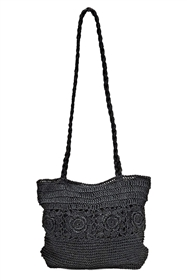wholesale purses crochet handles