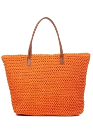 bulk straw beach tote bags - wholesale womens straw summer bags