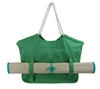 wholesale canvas beach totes with straw mat