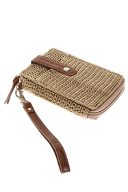 wholesale nylon crochet wristlet