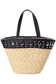 wholesale straw tote bag  gems