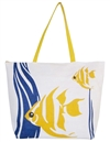 wholesale tropical fish toyo tote bag