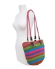 wholesale rainbow striped handbags buy bulk bags