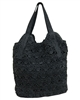 wholesale large crochet straw handbag tote bag