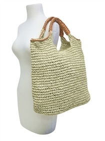 wholesale beach bags totes wrapped handles