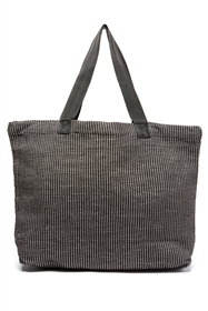 wholesale open top textured fabric tote bag