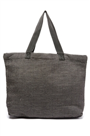 bulk open top textured tote