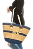 wholesale straw beach bag nautical anchor