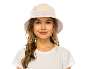 wholesale bucket sun hats for women